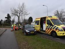 Vrouw gewond na aanrijding in Malden