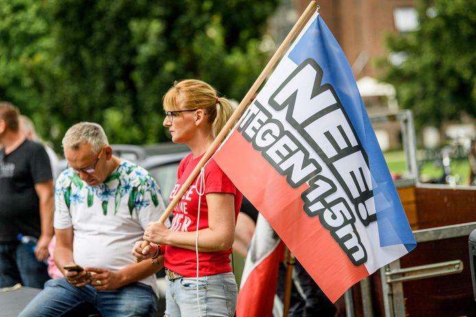 Enschede heeft na het rustige verloop van een demonstratie zondag 19 juli toestemming gegeven voor een vervolg.