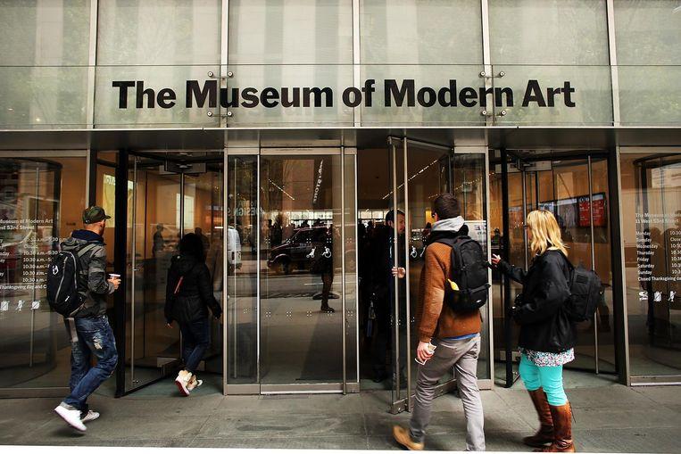 Museum of Modern Art in New York Beeld getty