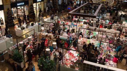 Over de koppen lopen tijdens eerste weekend kerstvakantie