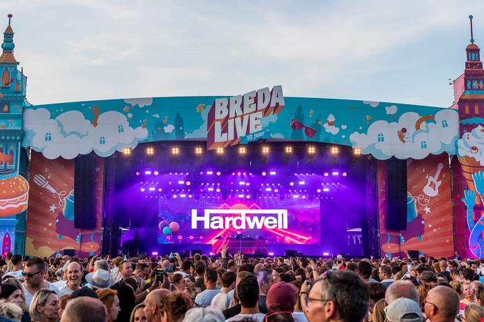Hardwell op Breda Live 2018