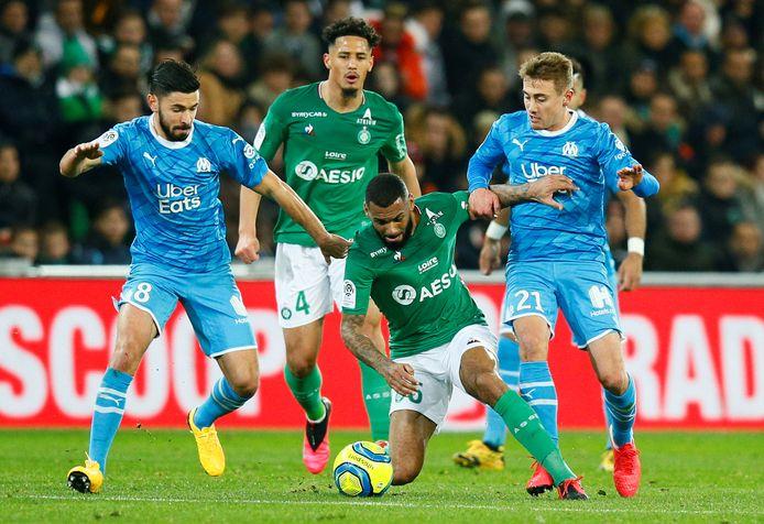 Grote Franse clubs als Saint-Étienne en Olympique Marseille zouden op omvallen staan.