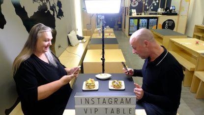 Restaurant plaatst lamp voor de perfecte Instagramfoto