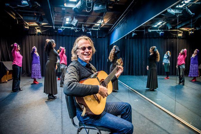Johan Frauenfelder van flamencoband De Règâhs.