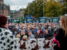 Boerenprotest in Arnhem: landbouwers leveren sleutels in als steun uitblijft