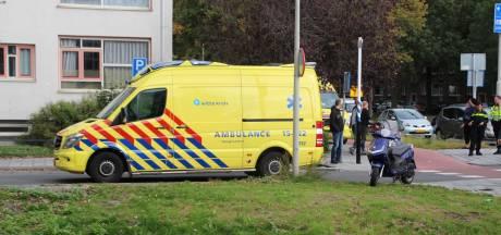 Gewonde na ongeval tussen scooter en auto bij Maartensdijk