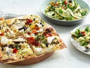 Wat Eten We Vandaag: Flammkuchen met witvis