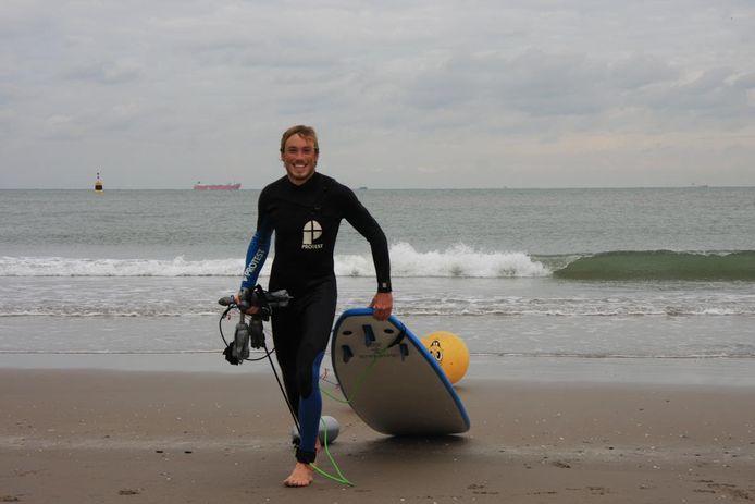 Voor Joost uit Halsteren was surfen zijn lust en zijn leven. Uitgerekend op zee kwam hij om het leven.