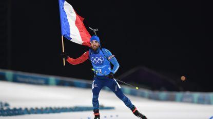 Franse biatlonlegende Fourcade zet punt achter carrière
