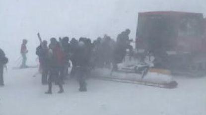 250 festivalgangers op Tomorrowland Winter  geëvacueerd door slecht weer