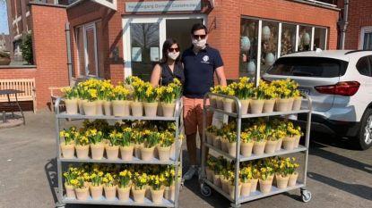Leo Club zet bewoners vier Ninoofse woonzorgcentra in de bloemetjes