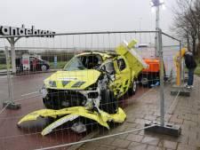 Heb jij het autowrak langs de A12 bij Harmelen al gespot?