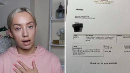 Bloggergate gaat verder: Elle wil vier dagen gratis logeren, hoteleigenaar vraagt 5 miljoen voor alle reclame die ze kreeg