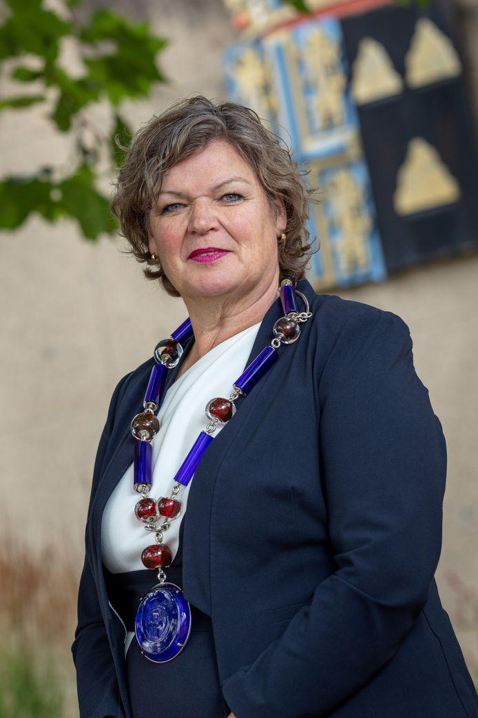 Burgemeester Wilmien Haverkamp van Tubbergen.