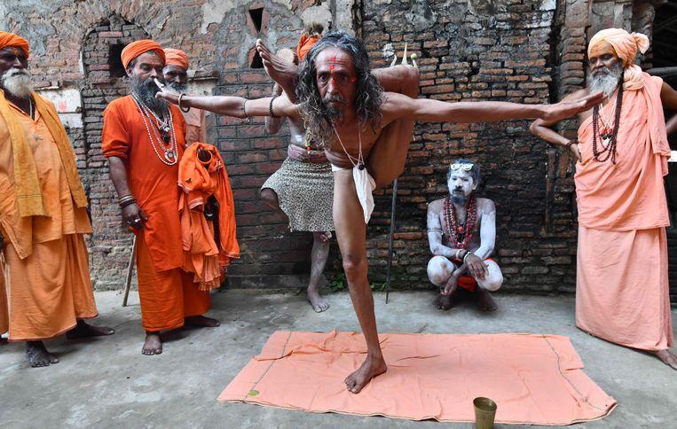 In Guwahati, India. Beeld AFP