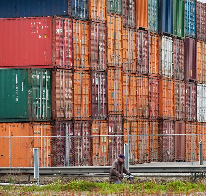De nieuwe containerhaven moet de gemeente straks bereikbaar maken voor de grootste klasse binnenvaartschepen, containerschepen tot 135 meter.