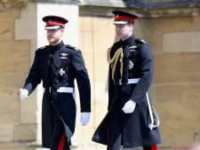 """Le prince William """"inquiet"""" pour son frère Harry"""