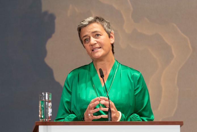 Margrethe Vestager reste commissaire européenne à la Concurrence