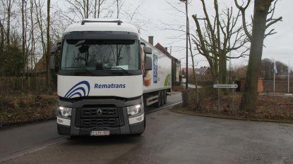 Gedaan met grote trucks in kleine straten