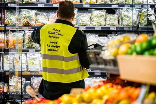 Een Jumbo-supermarkt in Eindhoven