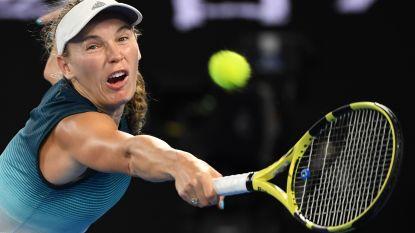 Wozniacki geeft ziek forfait voor WTA-toernooi van Dubai - Bonaventure bereikt hoofdtabel in Boedapest