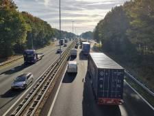 Ongeluk tussen Rosmalen en Zaltbommel op A2, weg weer vrij