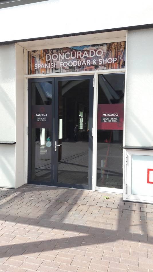 Spaans restaurant Doncurado is vertrokken uit het Paleiskwartier