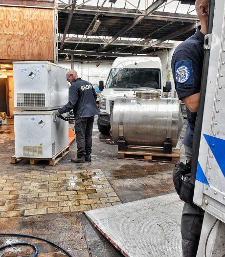 Grote actie tegen Tilburgse drugsketelbouwer en diens netwerk: 17 politie-invallen, 5 arrestaties
