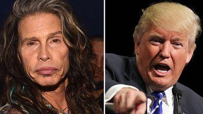 """Aerosmith dreigt met rechtszaak tegen Trump: """"Gebruik ons nummer niet"""""""
