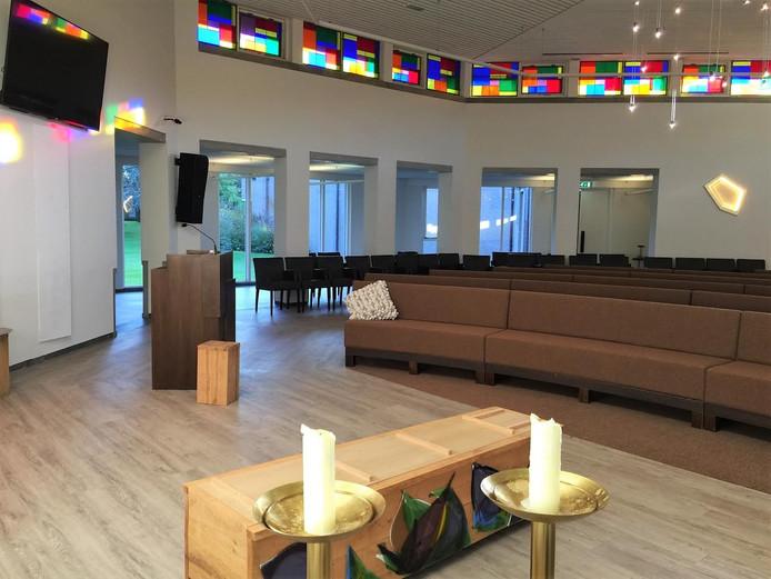 Crematorium Tilburg is gerenoveerd.