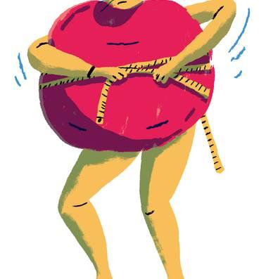 Een meetlint zegt hoe gezond je bent