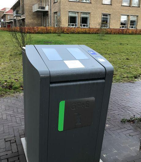 Al meer dan honderd afvalzuilen voor etensresten bij Veenendaalse flats