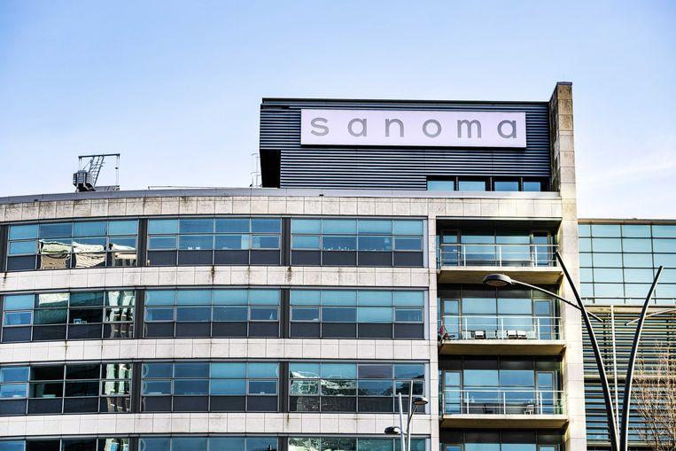 Het hoofdkantoor van Sanoma. Het Belgische DPG Media, voorheen bekend als De Persgroep, betaalt 460 miljoen euro voor de overname van Sanoma Media Netherlands.  Beeld ANP