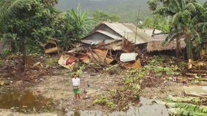 VIDEO. Dronebeeld toont complete ravage na tsunami Indonesië