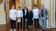 Leerlingen van Don Bosco Hoboken krijgen prijs uit handen van koningin Paola