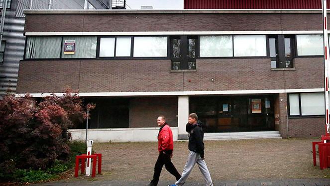 Het Belastingkantoor in Gorinchem.