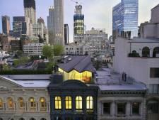 Fenomenaal penthouse op klassiek New Yorks herenhuis gebouwd