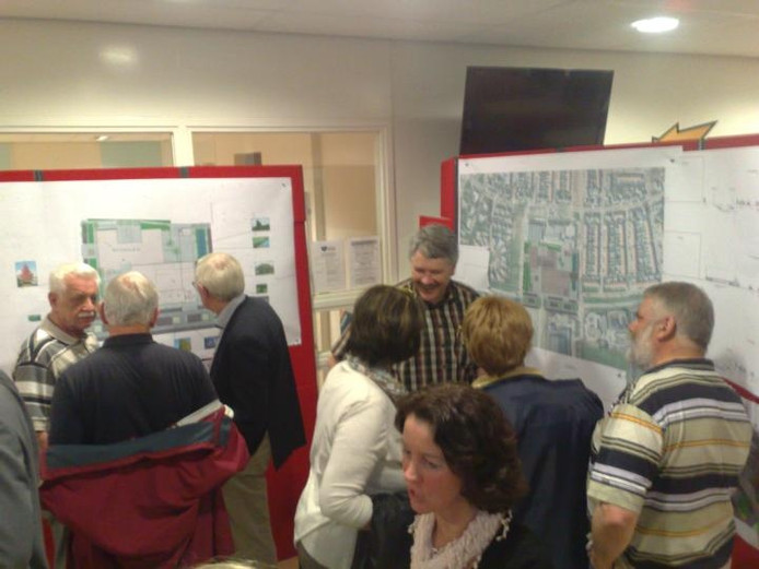 Er was dinsdagavond veel belangstelling voor de informatiebijeenkomst over de Portage. foto Bertjan Kers/BD