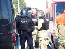 Mogelijk drugslab gevonden aan de Grindweg in Rotterdam-Hillegersberg