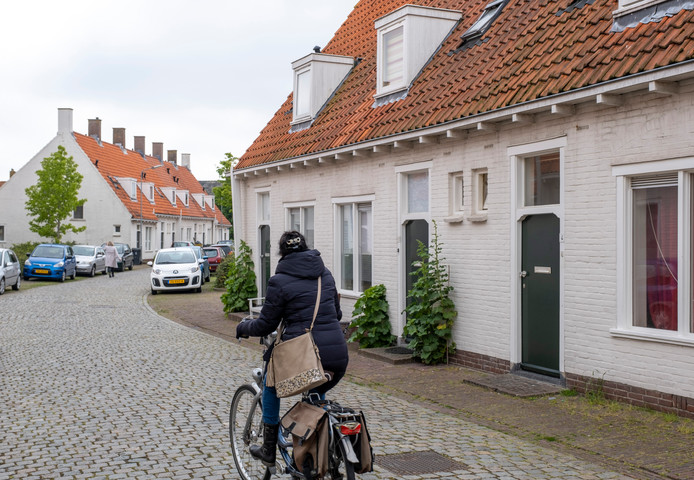 De Baarsjesstraat in Middelburg.