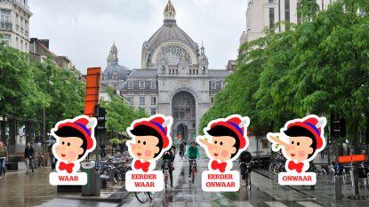 """Pinokkiotest: """"Antwerpen is de op één na meest verkeersveilige stad van Vlaanderen"""""""