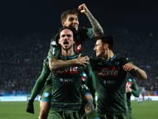 Napoli dankzij prachtgoal Fabián Ruiz langs Brescia