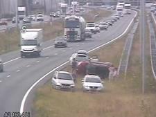 Ongeluk op A2 bij Eindhoven, rijstrook weer open