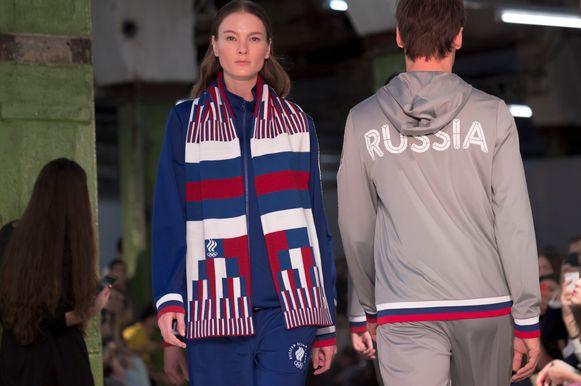 Terwijl het IOC bij Nike al 'neutrale' outfits besteld zou hebben, stelde Rusland vorige week zijn olympisch uniforms voor Pyeongchang 2018 al voor.