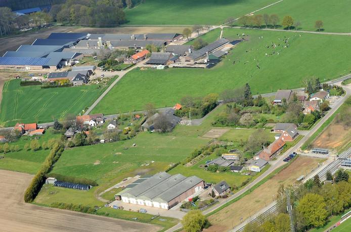 De agrarische omgeving van Vierlingsbeek.