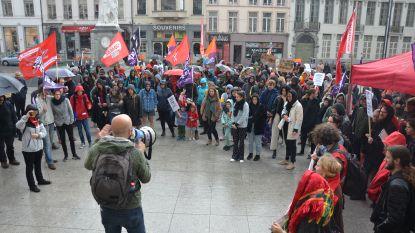 Linkse organisaties betogen tegen opmars extreemrechts