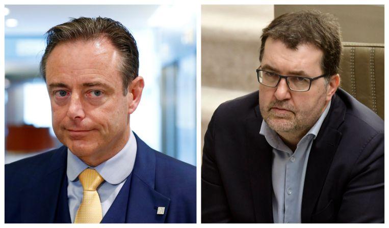 Antwerps burgemeester Bart De Wever (N-VA) en Groen-lijsttrekker Wouter Van Besien waren het onderwerp van enkele verkiezingspagina's.