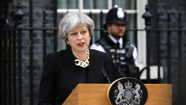 Theresa May Beeld afp