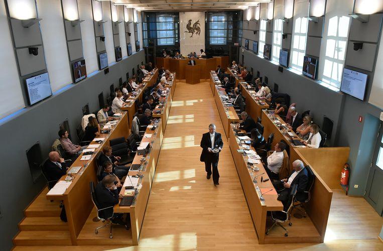 Het Waalse parlement in Namen.