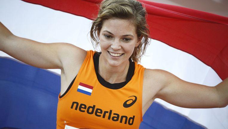 Marlou van Rhijn, 2013. Beeld afp